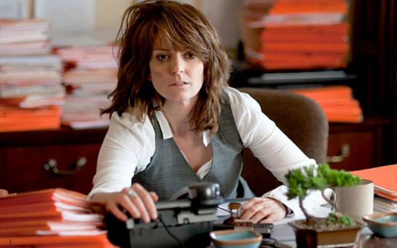 tina fey, long winter afternoon, work, slog, slug, slump