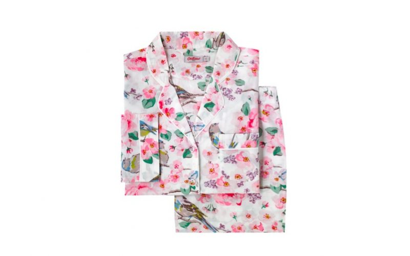 cath kidston, scattered meadowfield birds, pyjamas, winter pjs, less expensive, nothing to wear?, midult fashion