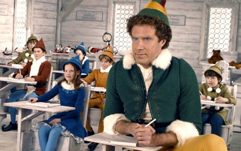 elf, elf the movie, will ferrell, school, studying, exams, never ever, never have to do again