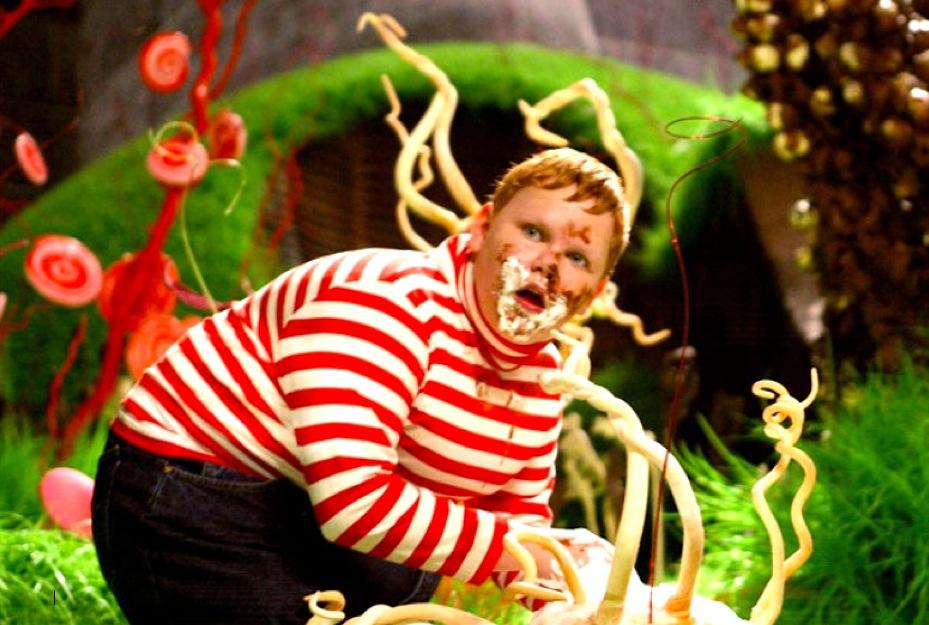 Augustus Gloop Charlie Chocolate Factory Binge Eating Conversations   January Midult