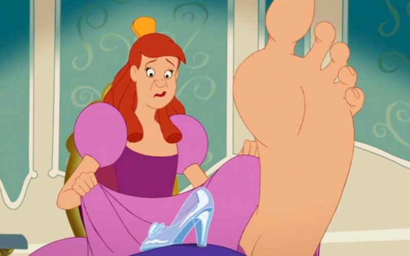 cinderella, step sister, glass slipper, care about, zero fucks, don't care, grow out of