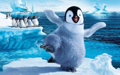 happy feet, penguin, hooray, love january, january joy, january