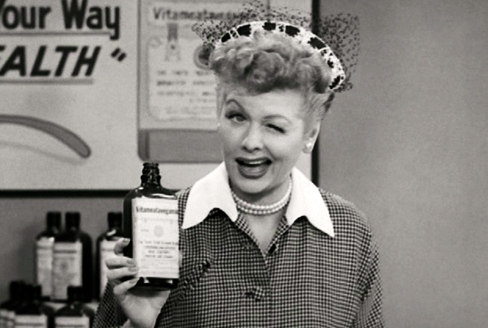 Lucille Ball I Love Lucy Medicine Medication