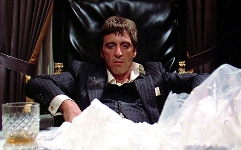 scarface, cocaine mountain, al pacino, moderation, moderate