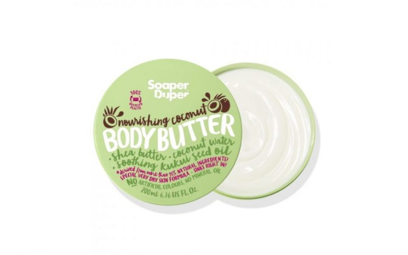 beauty school dropout, coconut body butter, soaper duper, midult beauty, beauty, body, moisturising