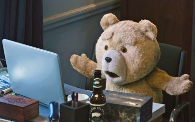 ted 2, laptop, email, email replies, email responses, outrage, annoying, wtf