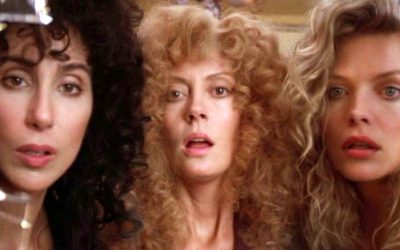 witches of eastwick, susan sarandon, cher, michelle pfeiffer, temptation, tempting