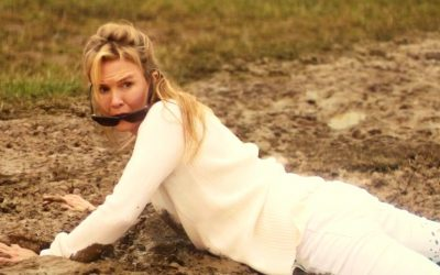 bridget jones' baby, renee zellweger, festival, mud, horror