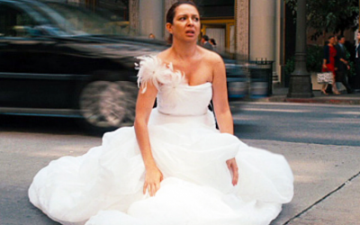 bridesmaids, maya rudolph, wedding dress, poo, low, midult low, new low, low point