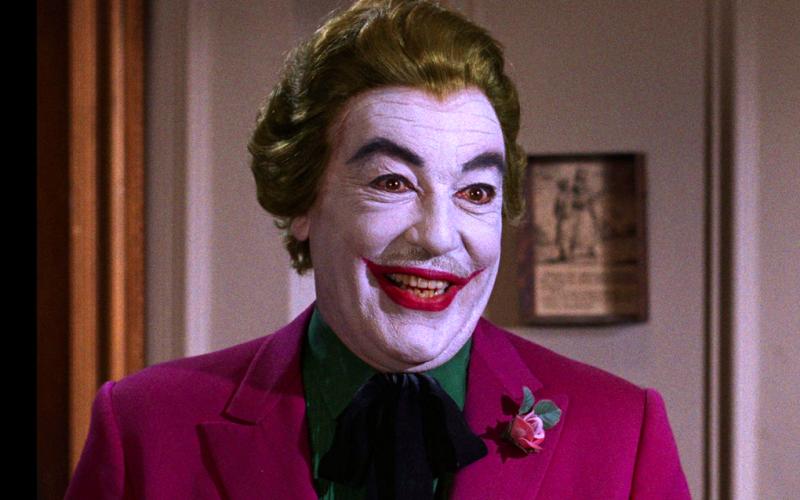 cesar romero, joker, cheerful, happy, grinning, grinch, grumpy