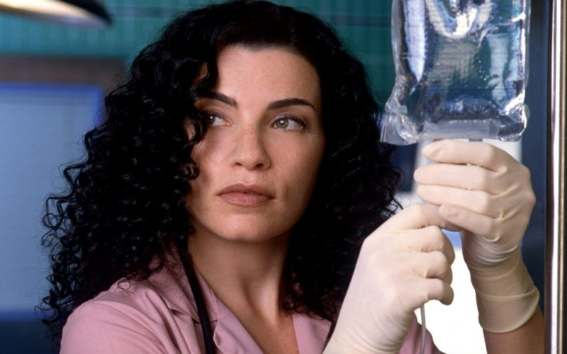 julianna margulies, ER, doctor, self diagnosis