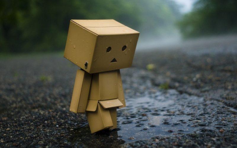 sad box, autumn, summer, seasonal affective disorder, rain, gloomy, weather