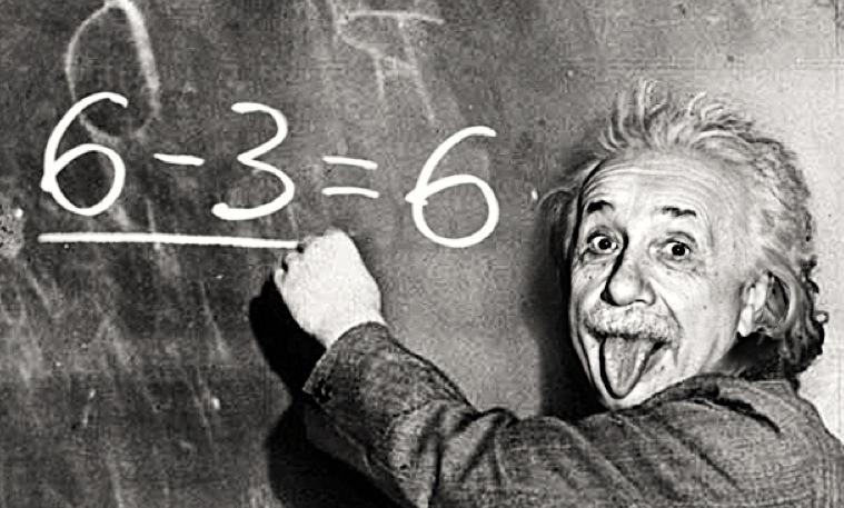 einstein, scientist, maths, numbers, blackboard