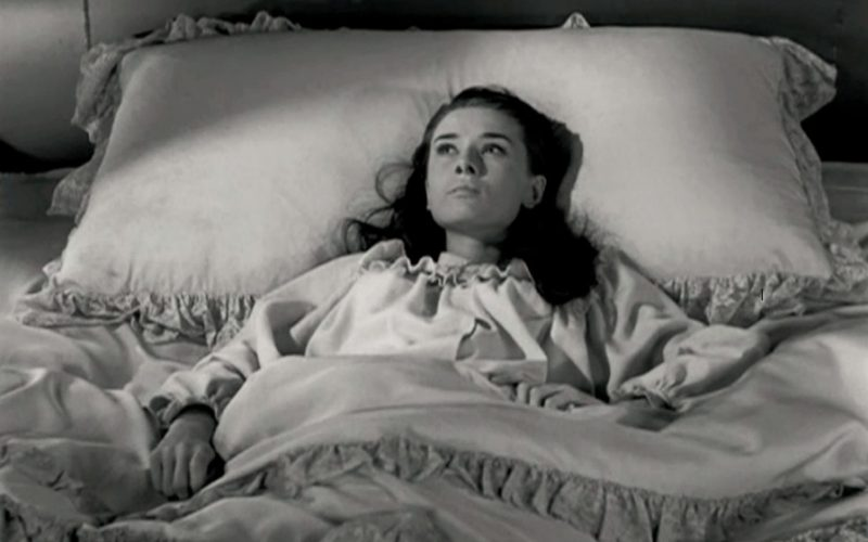 audrey hepburn, roman holiday, insomnia, lying in bed, awake at night