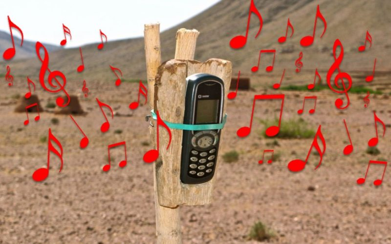 nokia, phone, red, musical notes, music, ringtone, melody