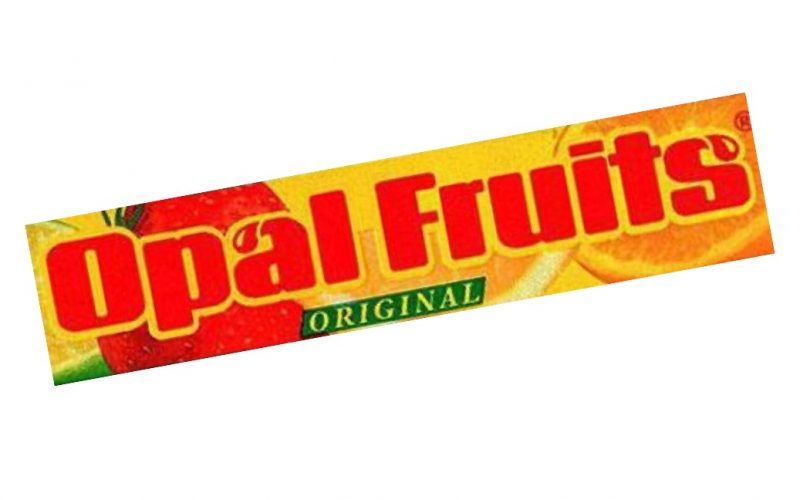 opal fruits, original, sweets, 90s, nostalgic