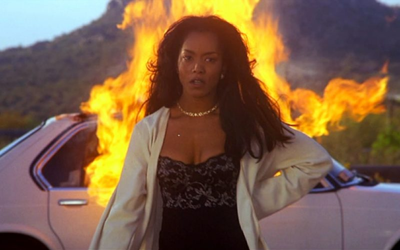 waiting to exhale, angela bassett, angry, set car on fire, leave husband, unhappy marriage