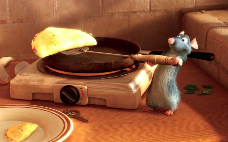 ratatouille, cooking, omelette, kitchen, restaurant, soothing, relaxing