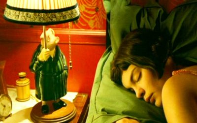 amelie, bedside table, bedroom, detail, cupboards, objects, contents