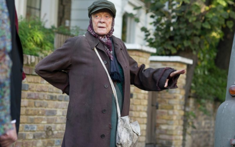 lady in the van, maggie smith, bad back, back pain, anxiety, worry, hunchback
