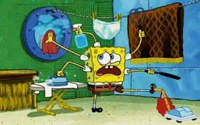 spongebob squarepants, busy, mental claustrophobia, serial skilling, multi-tasking, multi-tasker