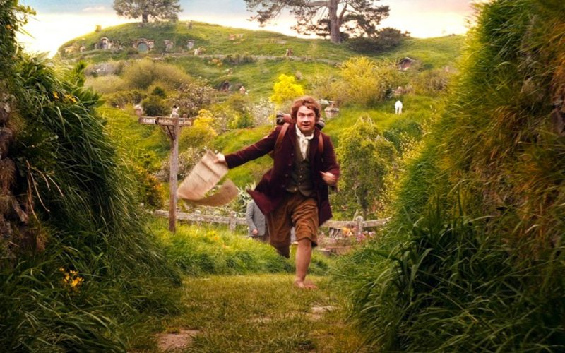 hobbit, lord of the rings, countryside, country, rural life, escape, things you learn