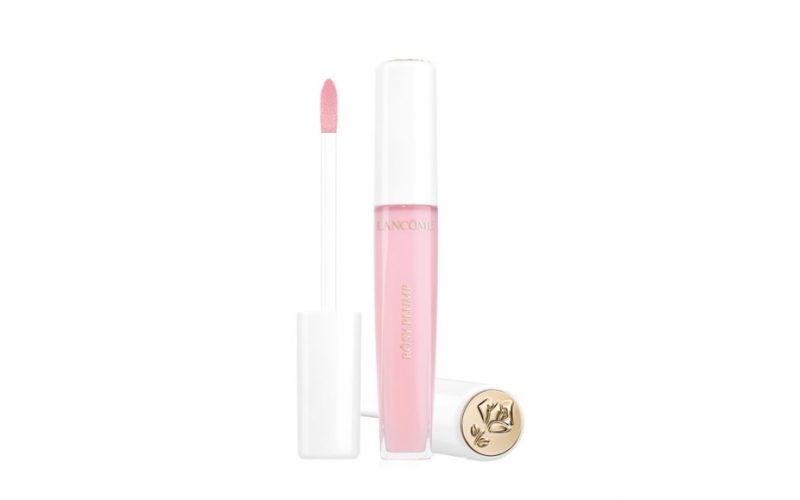 lancome l'absolu gloss rosy plump, lip gloss, beauty school dropout, midult, midult beauty, make up
