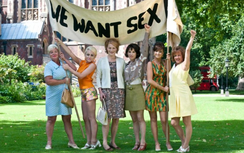 made in dagenham, we want sex e, march, protest, demonstration, women's rights, midult rights