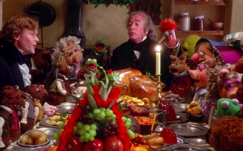 muppet christmas carol, christmas, christmas parties, dinner party, muppets, festive season