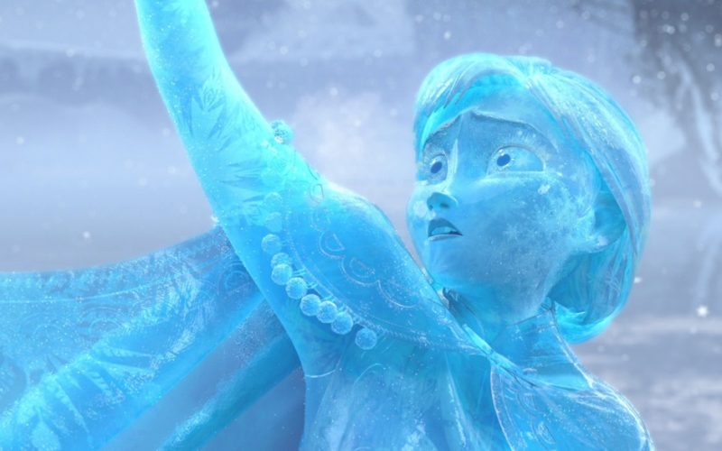 frozen, anna, ice statue, ice, freezing cold, winter, winter in town, winter in the country