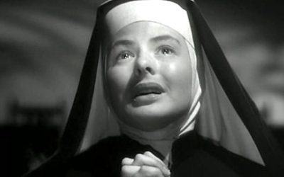 ingrid bergman, bells of saint mary, nun, confessions, confess, secret, guilty, own up, sins, guilt
