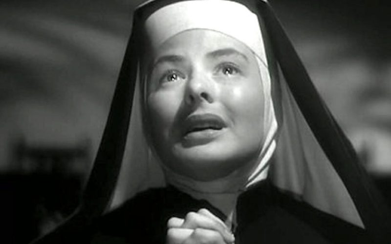 ingrid bergman, bells of saint mary, nun, confessions, confess, secret, guilty, own up, sins, guilt
