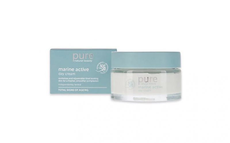 marks and spencer, marine active day cream, day cream, moisturiser, beauty school dropout, midult beauty, beauty, skincare, face