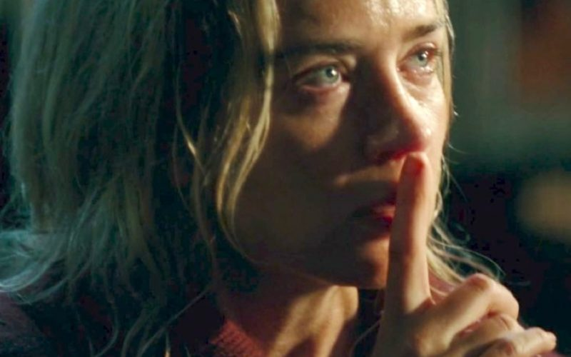 emily blunt, a quiet place, shhh, shush, only you, allowed to say, banned, only you are allowed