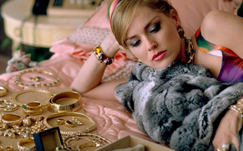 sharon stone, casino, jewellery, deals, make a deal, barter