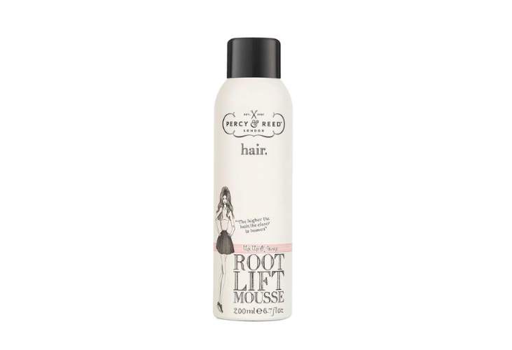 percy and reed, root lift mousse, hair, hair styling, volume, beauty, midult beauty, beauty school dropout