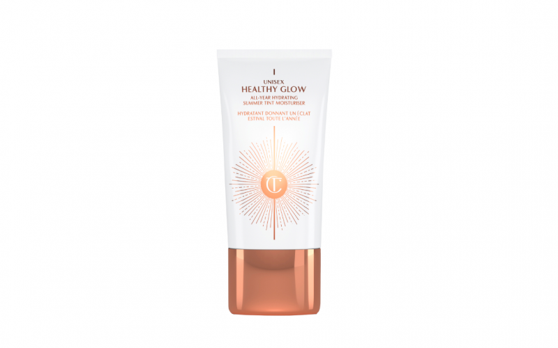 charlotte tilbury, unisex healthy glow, tinted moisturiser, make up, face, beauty, midult beauty, beauty school dropout