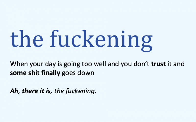 the fuckening, midult