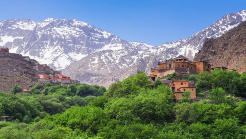 kasbah du toubkal, atlas mountains, eco holidays, holiday directory