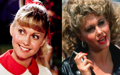 sandy, grease, olivia newton-john, good and bad, good and evil, dual personality, multiple personalities
