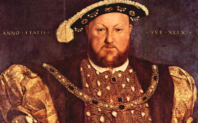 henry viii, holbein, painting, portrait, tudors, divorce, mediation, simple pain-free divorce