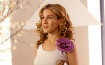 carrie bradshaw, sarah jessica parker, sex and the city, noughties fashion, noughties outfits, corsage