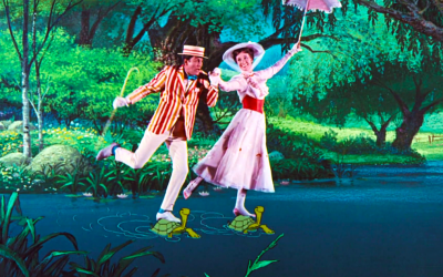 mary poppins, jolly holiday, games, dick van dyke, julie andrews, merry
