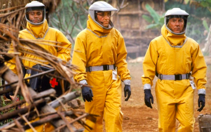 outbreak, contagious, contamination, protective gear, allergy, allergic reaction, epidemic