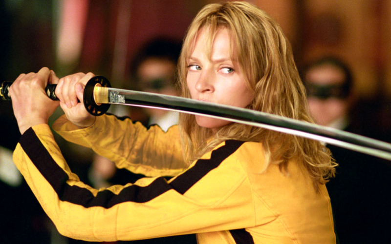 kill bill, uma thurman, great woman, woman, female power, girl power