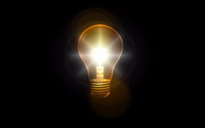 lightbulb, light, lightbulb moment, ping, learn, find out