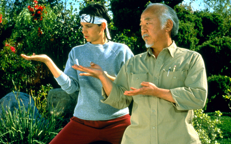 mr miyagi, karate kid, mentor, life coach, counsellor, advice