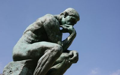 rodin, thinker, statue, philosophical mode, big questions, meaning of life