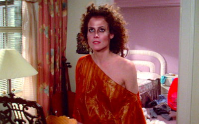 ghostbusters, sigourney weaver, hot, sweaty, transitional weather, seasonal adjustment, blame the weather, excuses