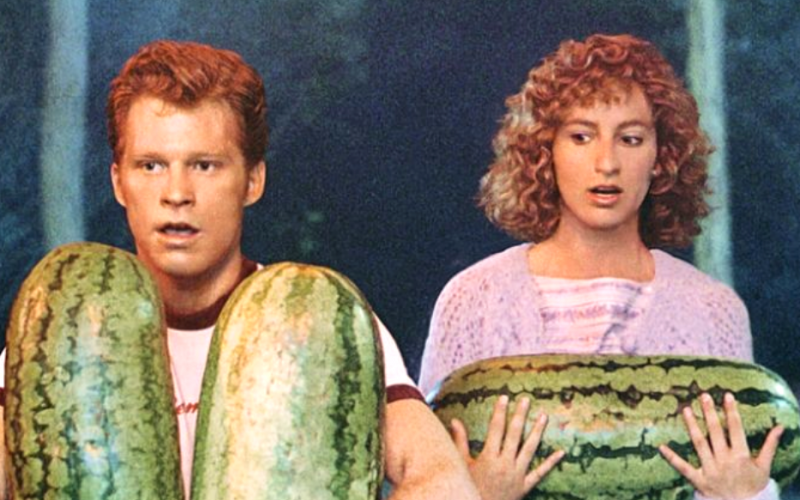i carried a watermelon, dirty dancing, patrick swayze, jennifer grey, dick, shame, embarrassing, watermelon, mini mortifications